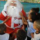 Natal na Creche Patinho Feliz 2016 – Visita do Papai Noel